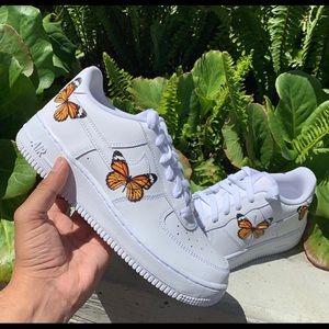 Women's Nike Air Force 1 butterfly